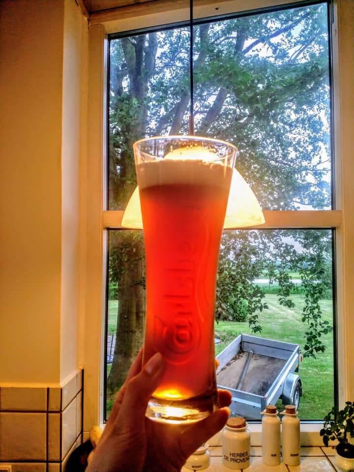 """Hjemmebrygge Irish Reed Ale - Pers første bryg i sit nye BrewKeg 25 """"all in one"""" bryggeri"""