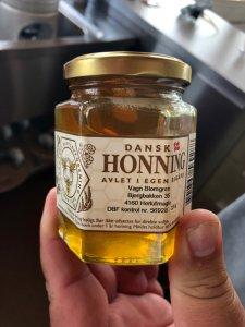 Nyslynget honning til en Honning Stout